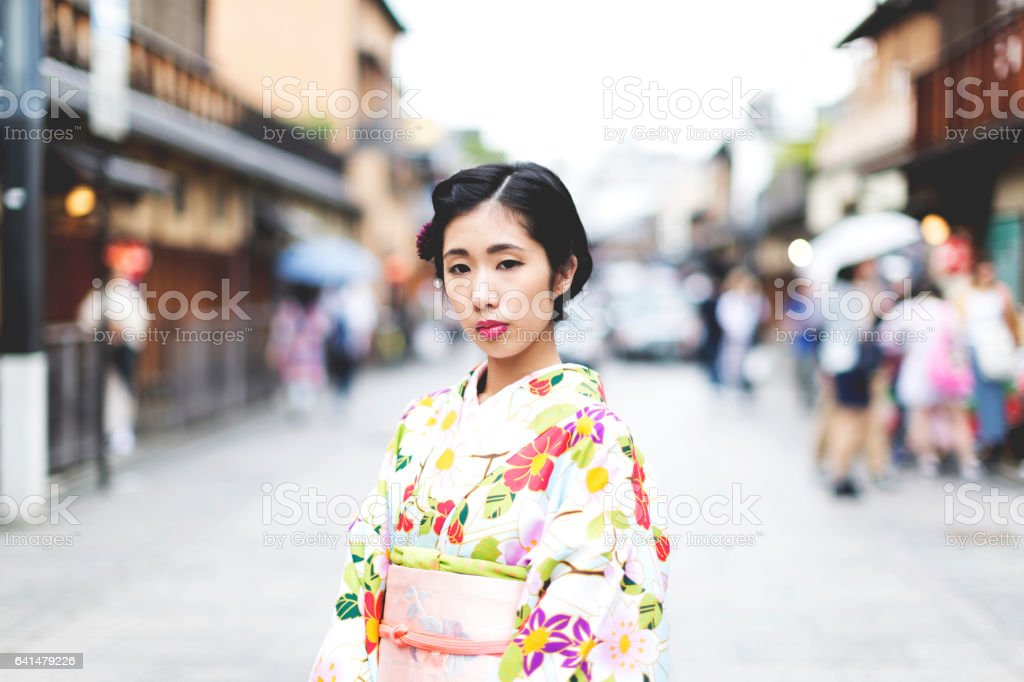 Welcome to Kyoto stock photo