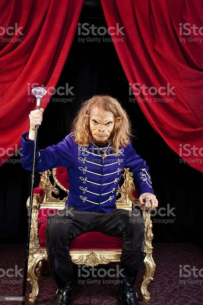 Welcome to my kingdom royalty-free stock photo