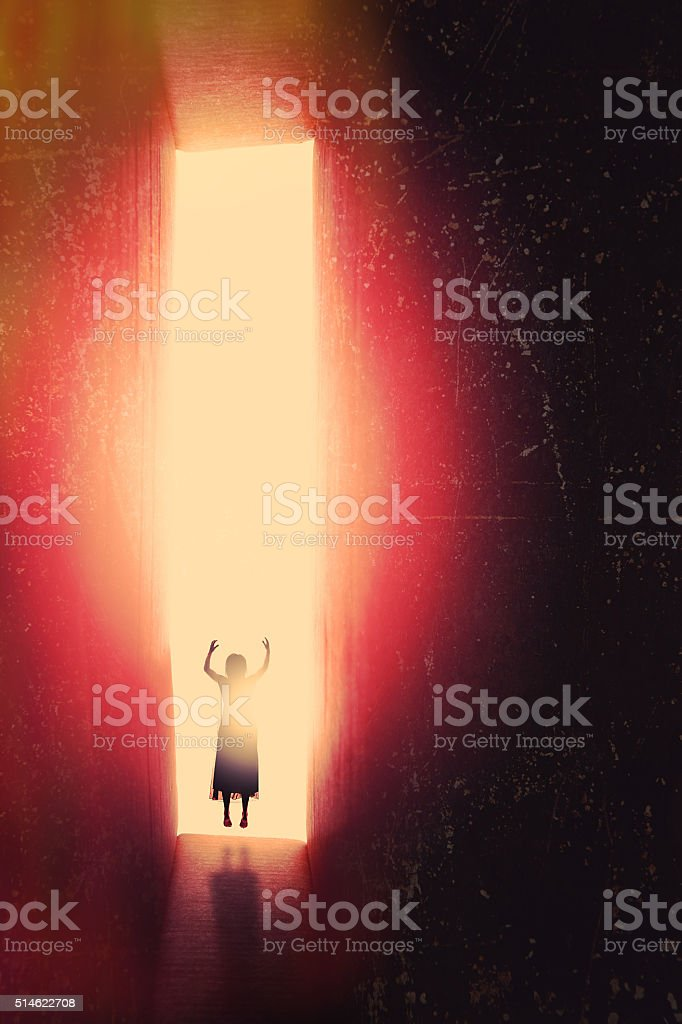 Welcome To My Nightmare stock photo