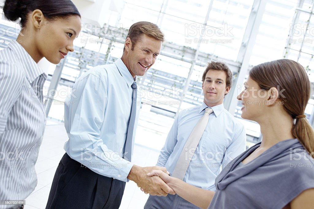 Welcome to our company! royalty-free stock photo