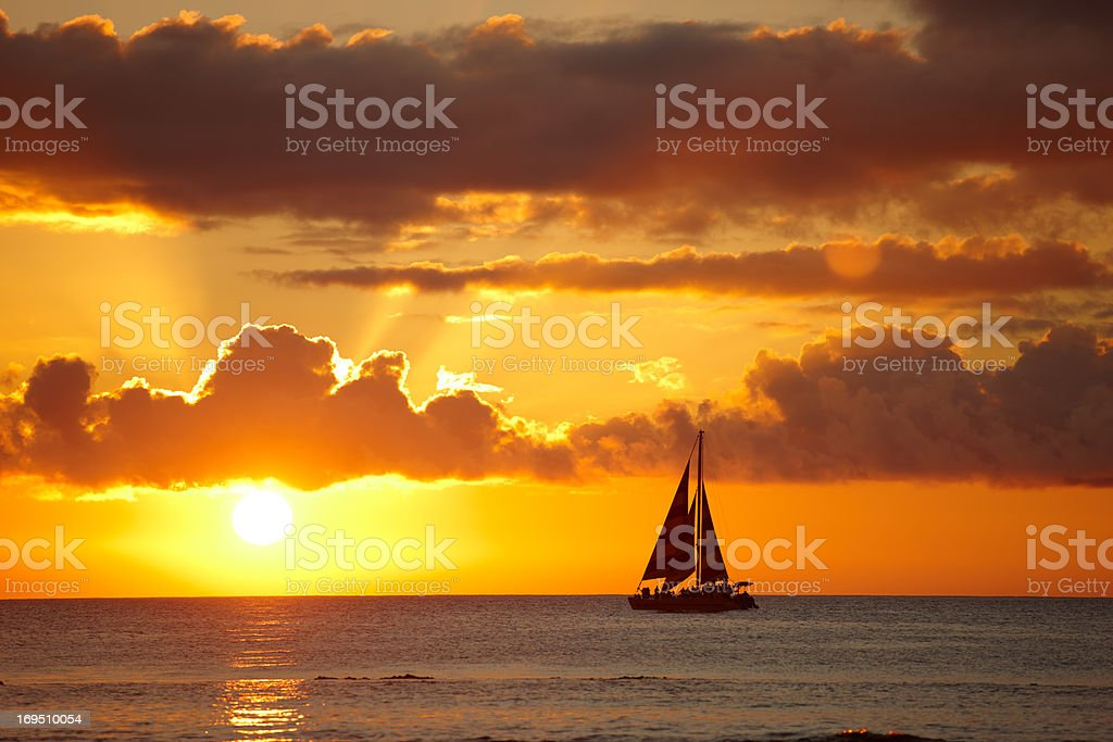 Welcome to paradise! royalty-free stock photo