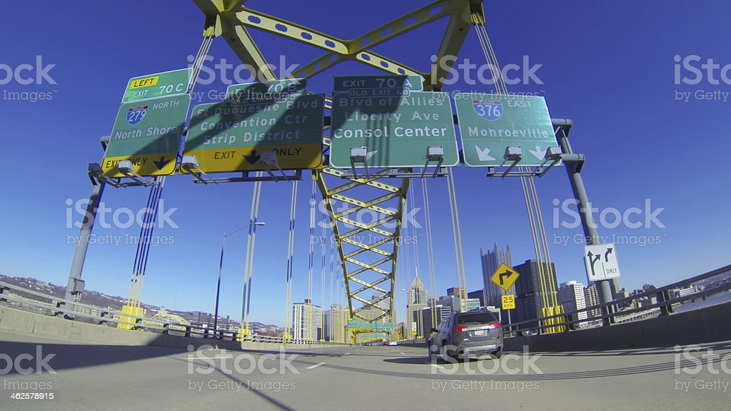 Welcome to Pittsburgh stock photo