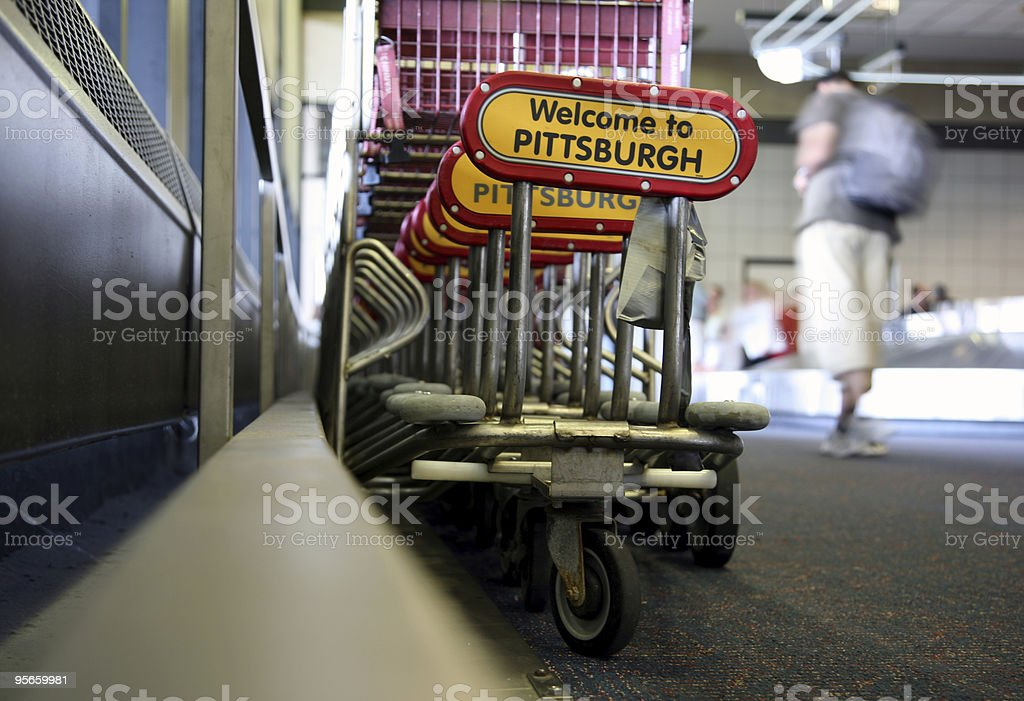 Welcome To Pittsburgh royalty-free stock photo