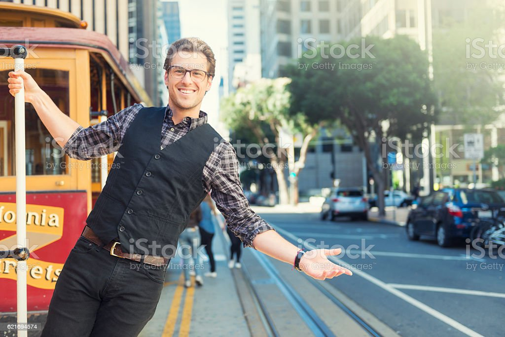 Welcome to San Francisco stock photo