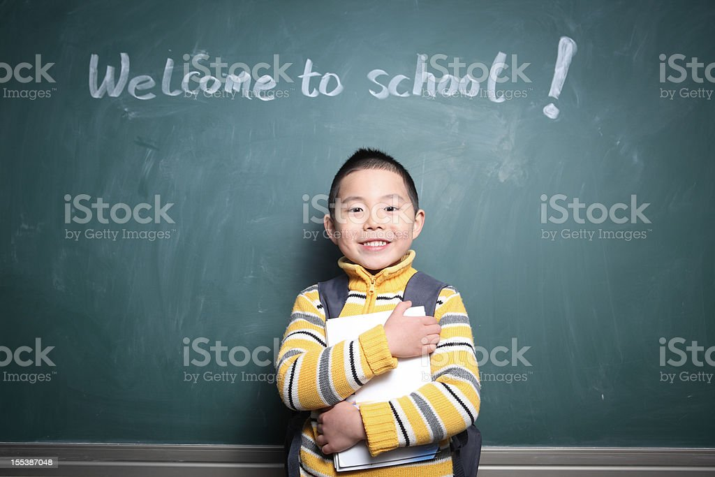 welcome to school royalty-free stock photo