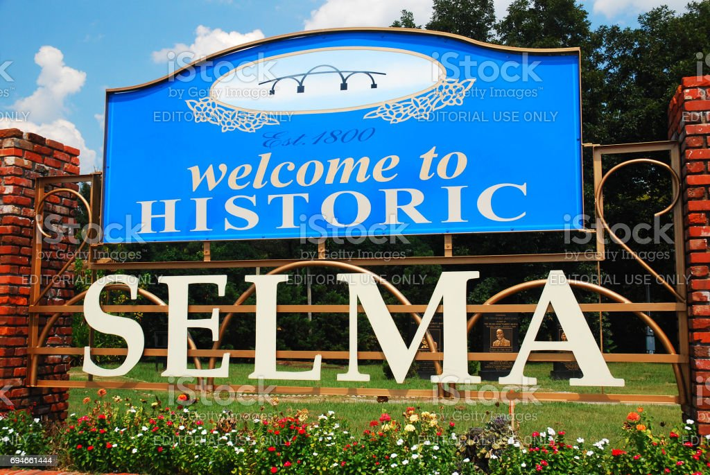 Welcome to Selma stock photo