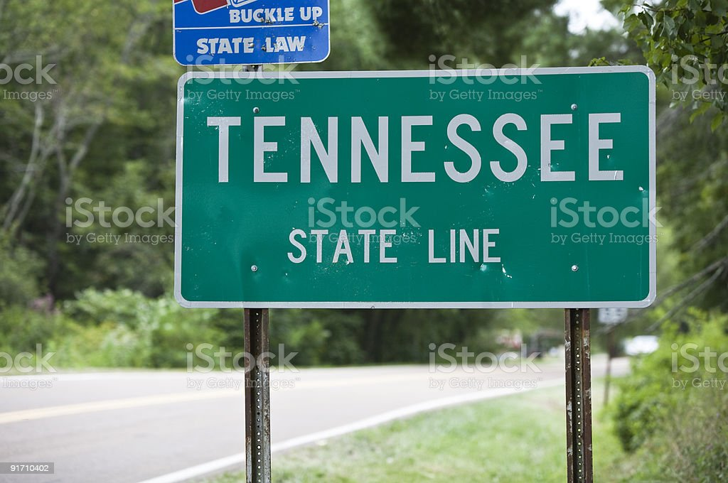 Welcome to Tennessee royalty-free stock photo