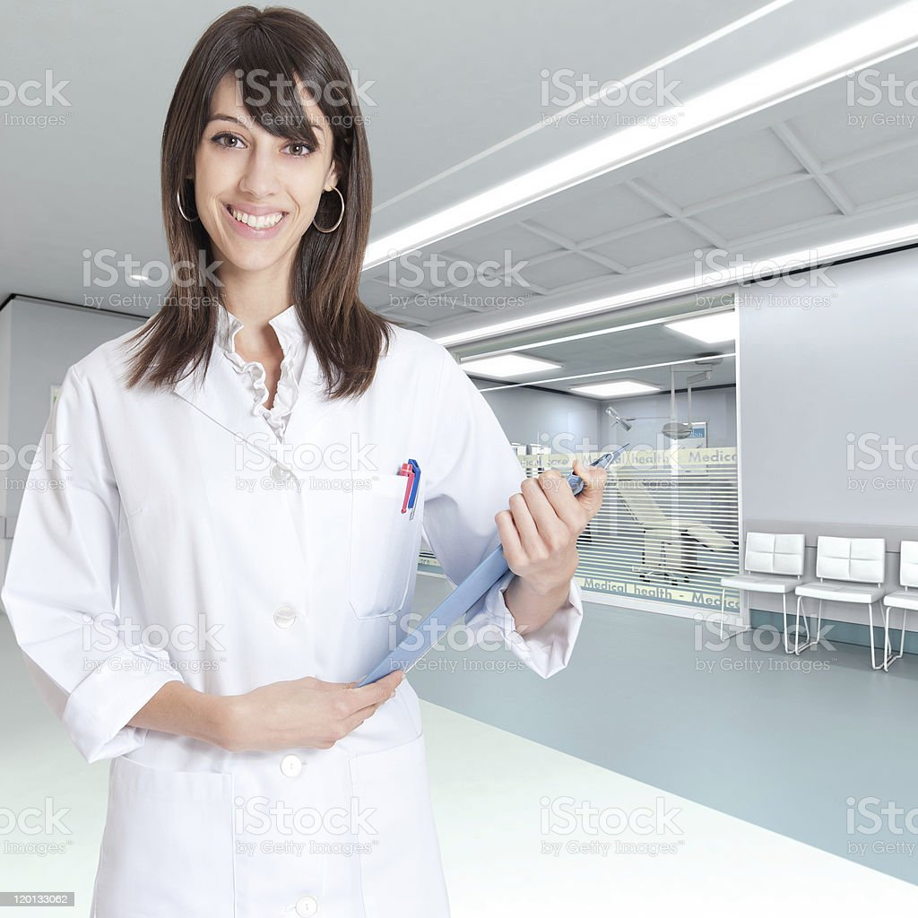 Welcome to the clinic stock photo