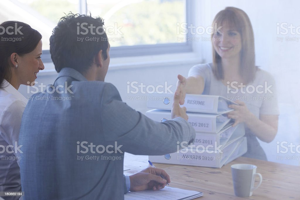 Welcome to the company! royalty-free stock photo