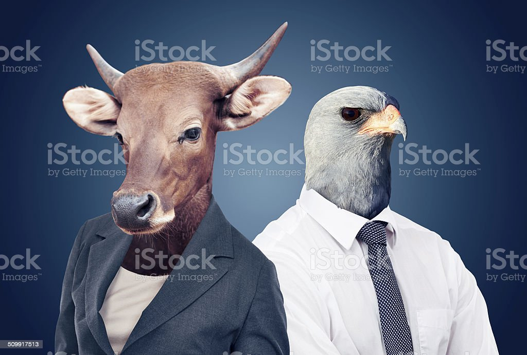 Welcome to the corporate jungle stock photo