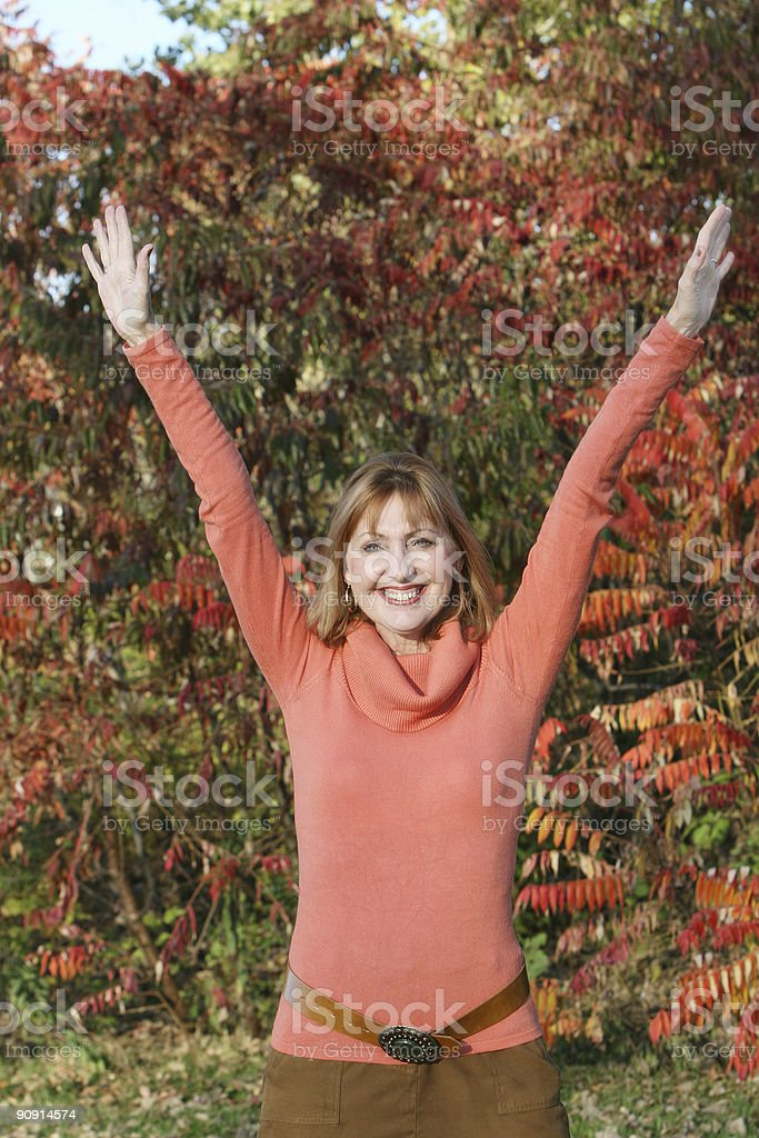 Welcome to the fall! royalty-free stock photo