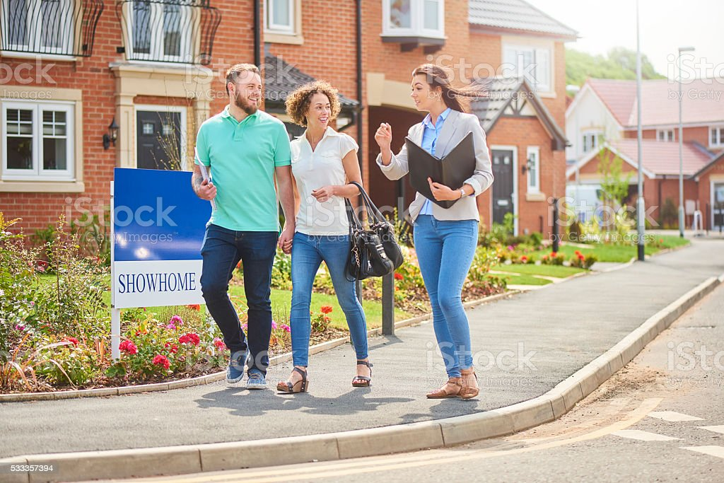 welcome to the neighbourhood stock photo