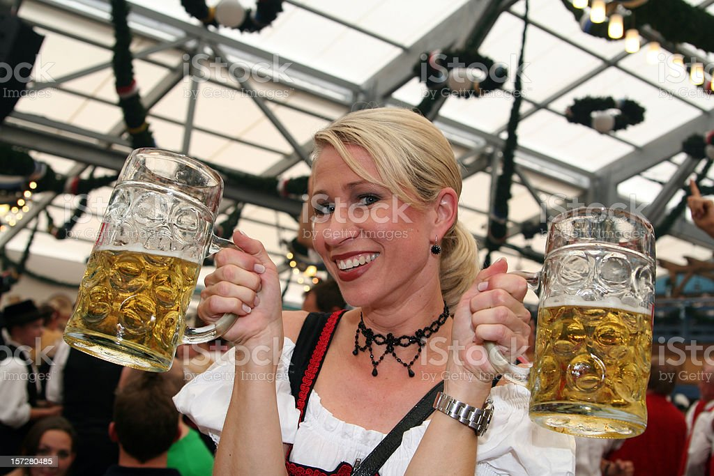 Welcome to the Octoberfest royalty-free stock photo