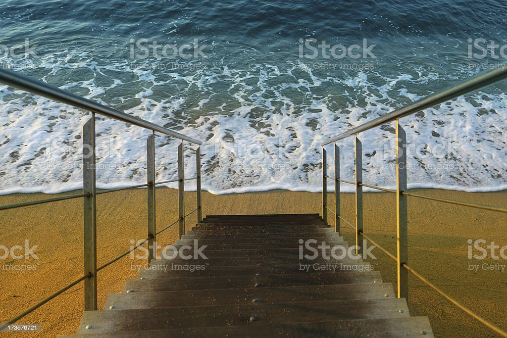 Welcome to the sea! stock photo