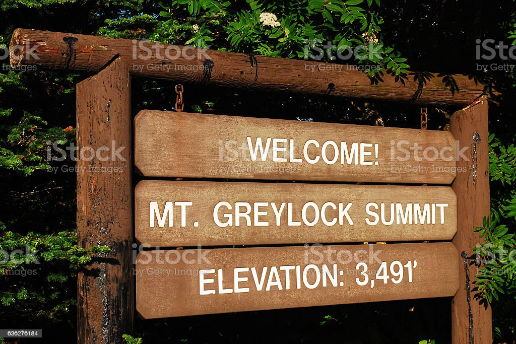 Welcome to the Summit stock photo