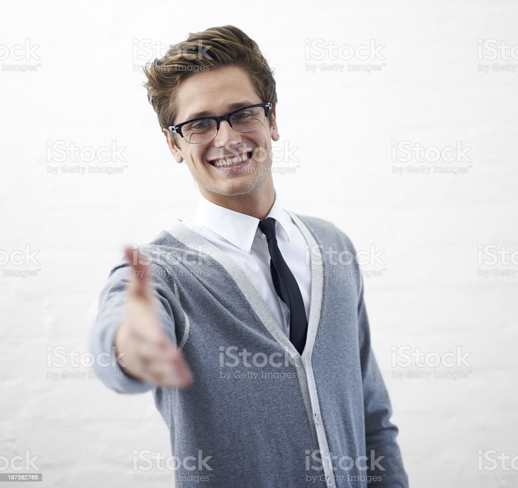 Welcome to the team! royalty-free stock photo