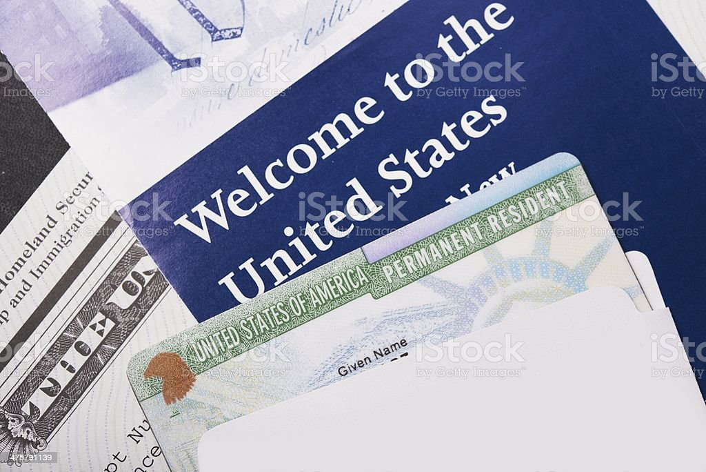 Welcome to the USA stock photo