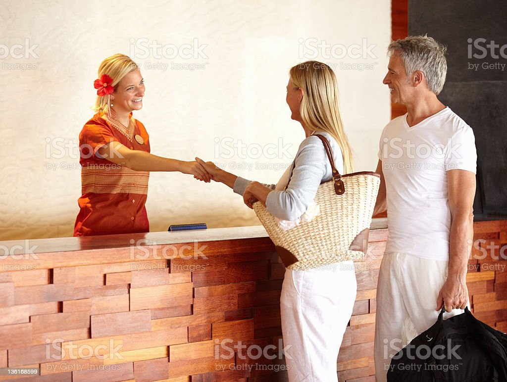 Welcome to vacation stock photo