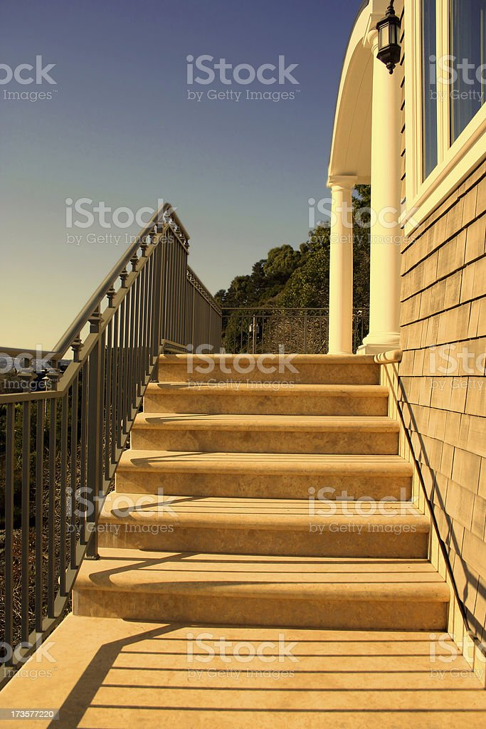 Welcome to your new home royalty-free stock photo