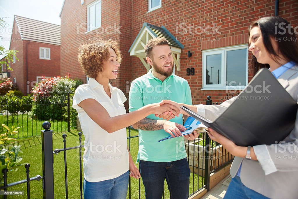 welcome to your new home stock photo