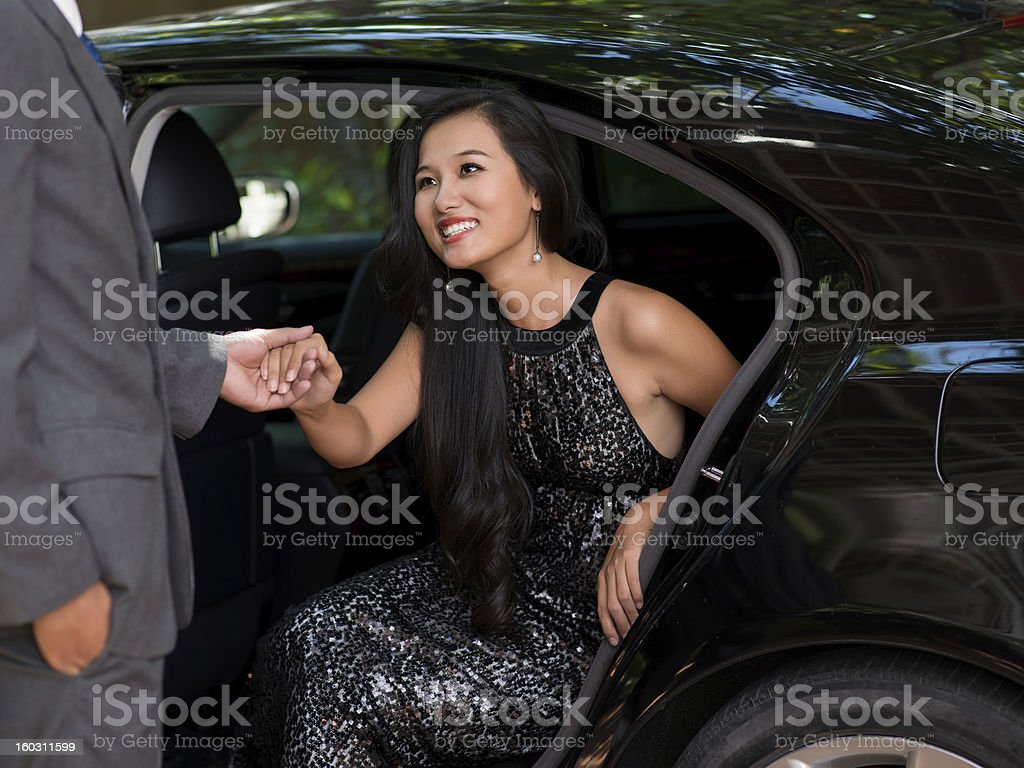 Welcomed stock photo