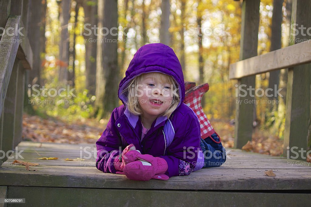 Welcoming Autumn stock photo