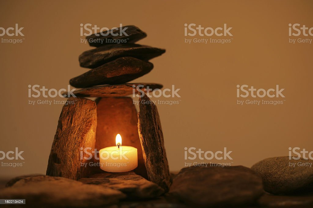 Welcoming Light stock photo