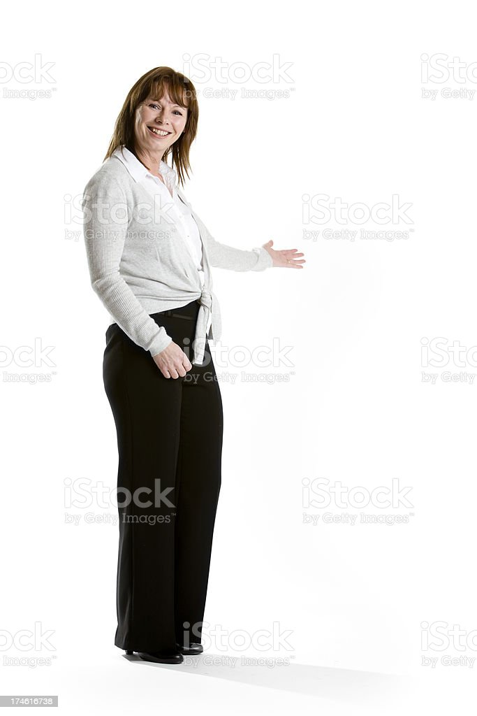 welcoming professional royalty-free stock photo