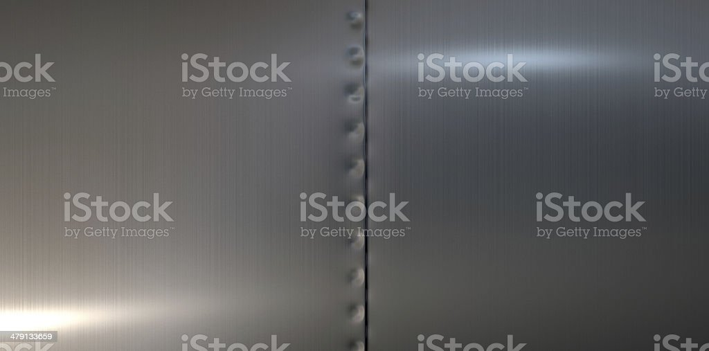 Welded Metal Sheets Fused stock photo