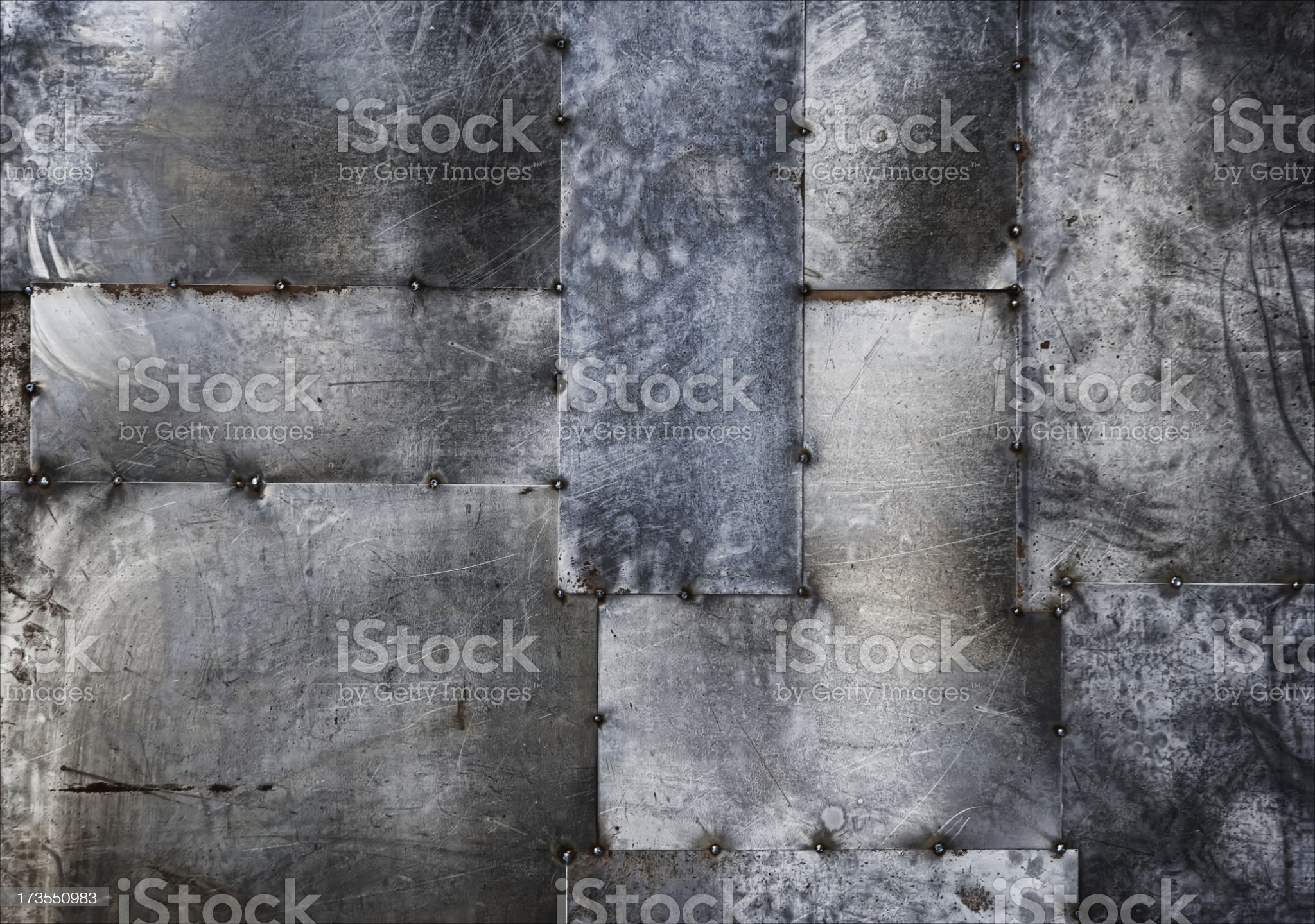 welded sheet metal as background royalty-free stock photo