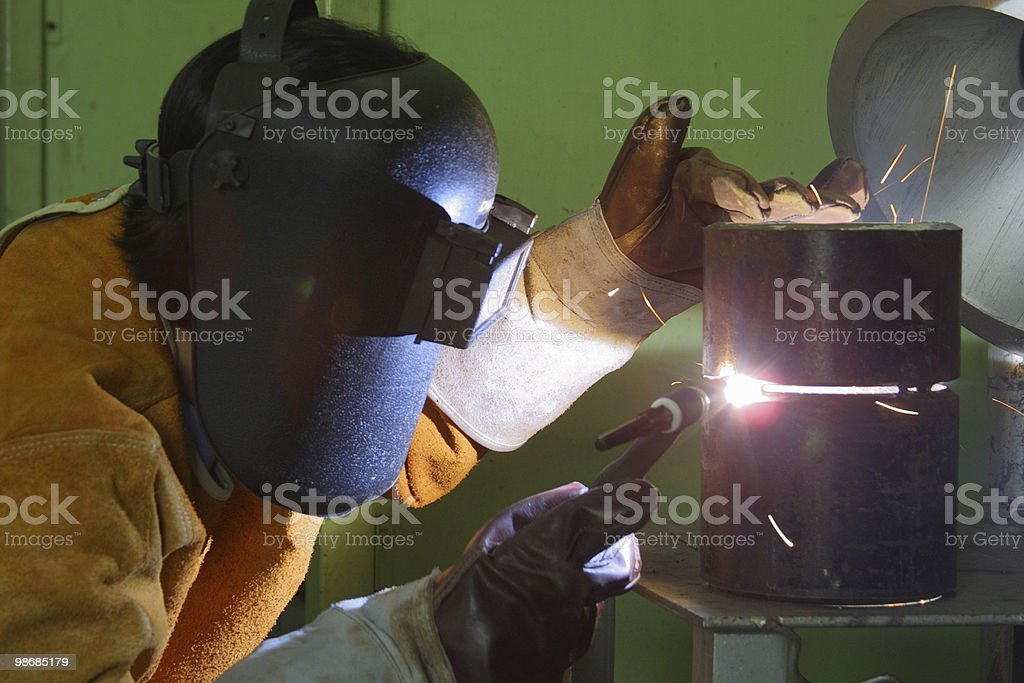 welder 6 royalty-free stock photo