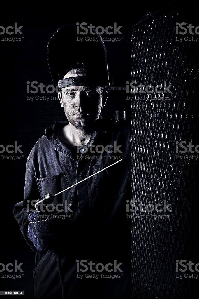 Welder stock photo