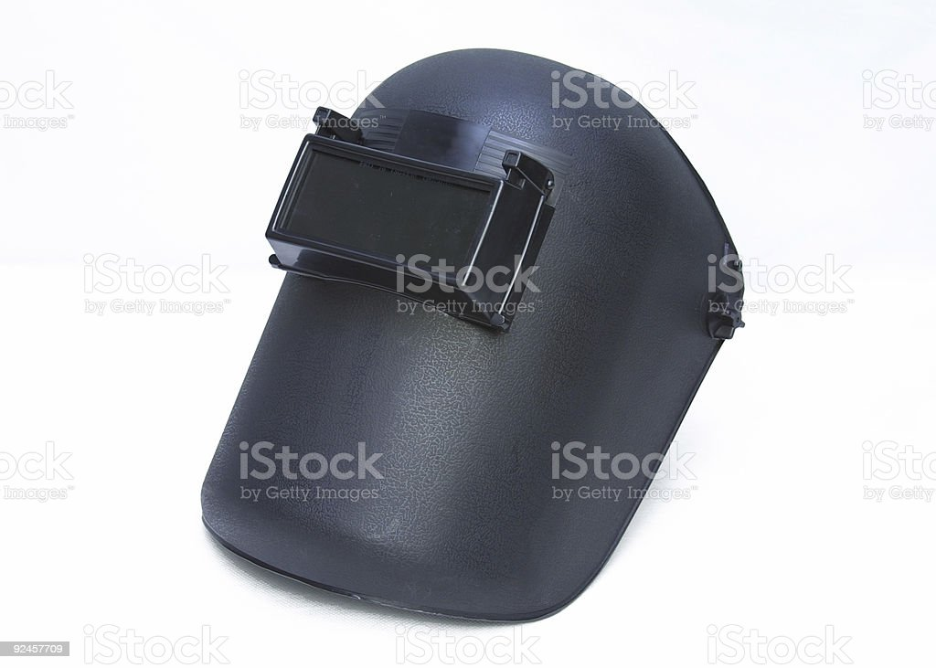 welding mask 1 royalty-free stock photo