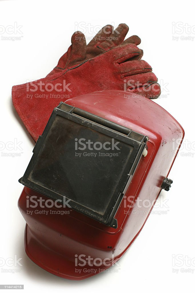 welding mask royalty-free stock photo