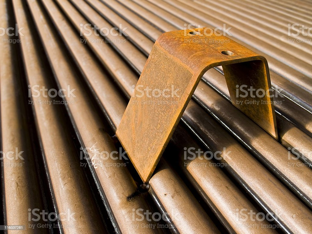 Welding part royalty-free stock photo