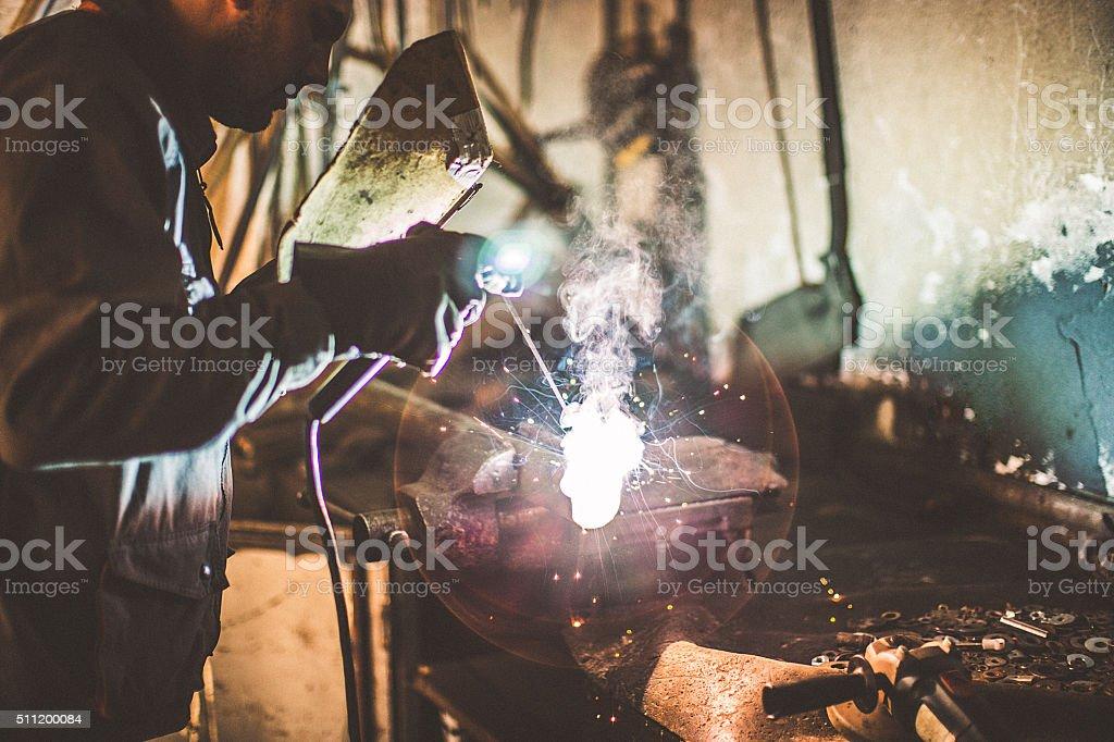 Welding stock photo
