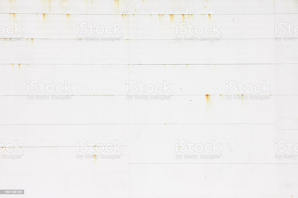 Weldseam on Ship Hull Background royalty-free stock photo