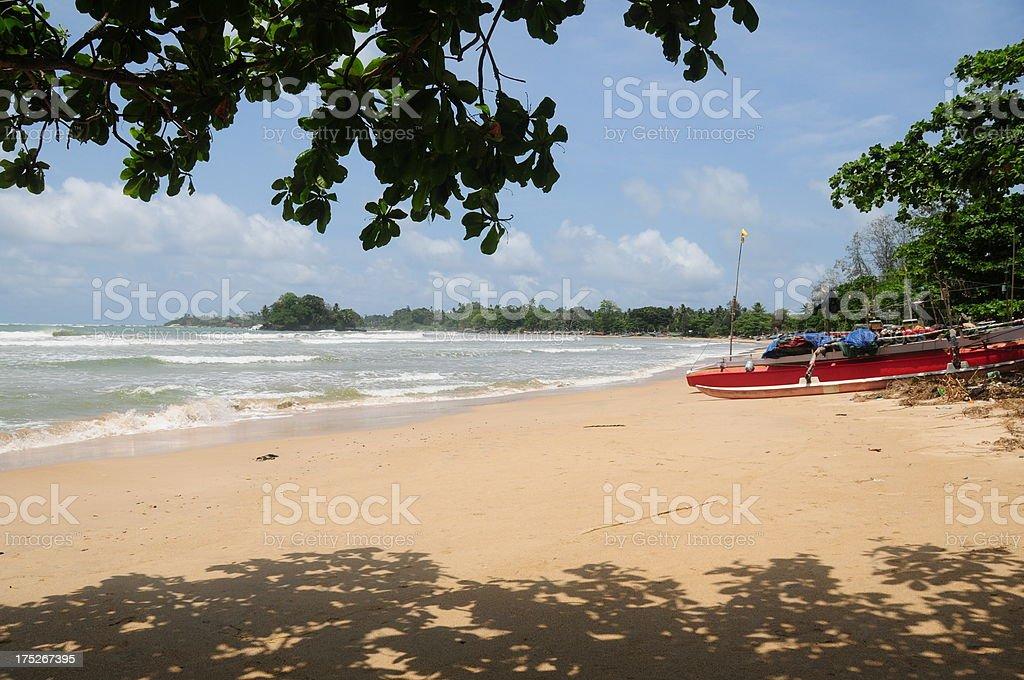 Weligama, Sri Lanka. royalty-free stock photo