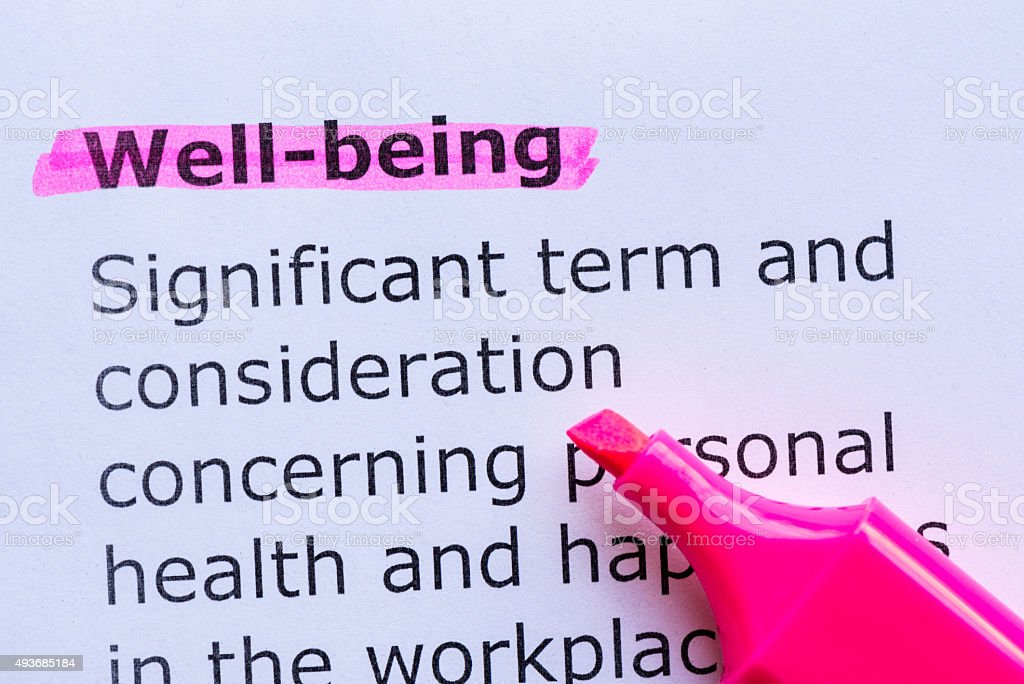 well being stock photo