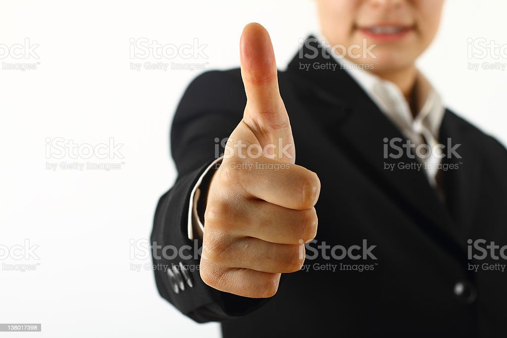 Well done royalty-free stock photo