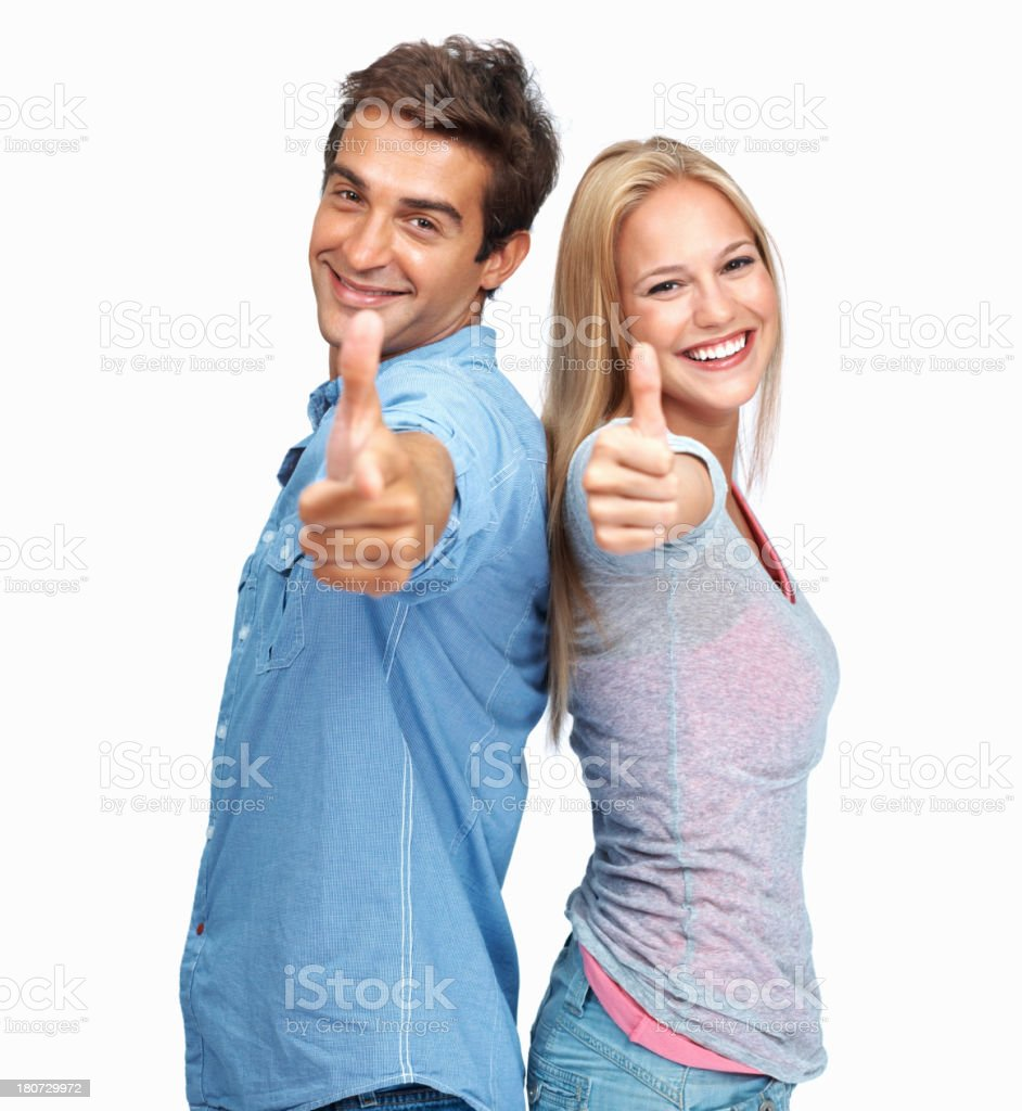 'Well done, you did a good job' royalty-free stock photo
