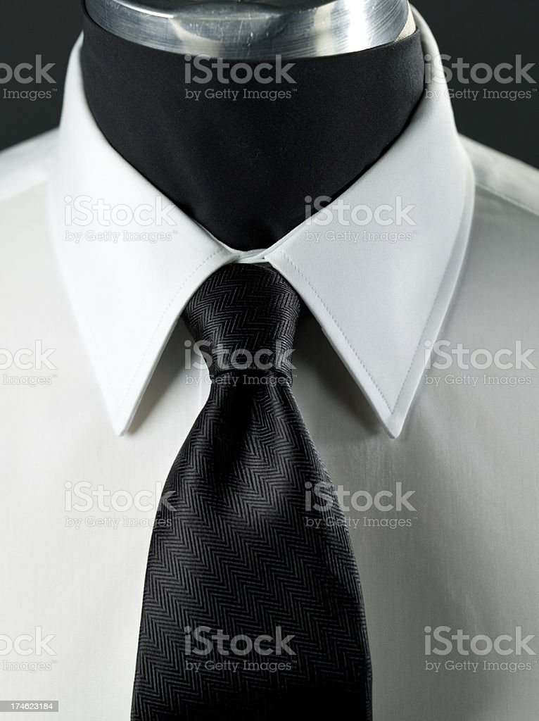 Well dressed business suit royalty-free stock photo