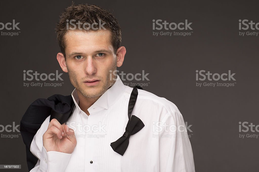 Well Dressed Man royalty-free stock photo