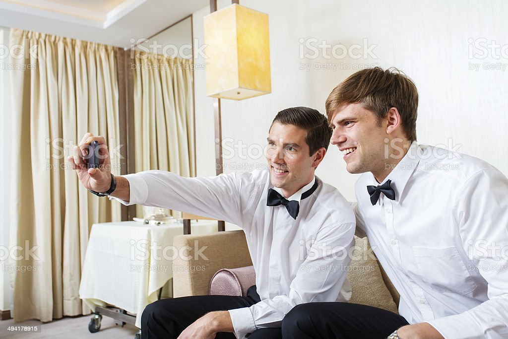 Well Dressed Selfie royalty-free stock photo
