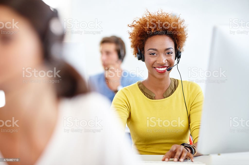 We'll find a solution for you stock photo