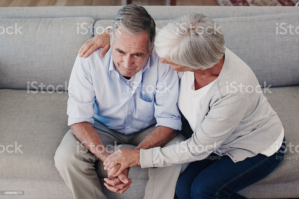 We'll get through this together day by day stock photo