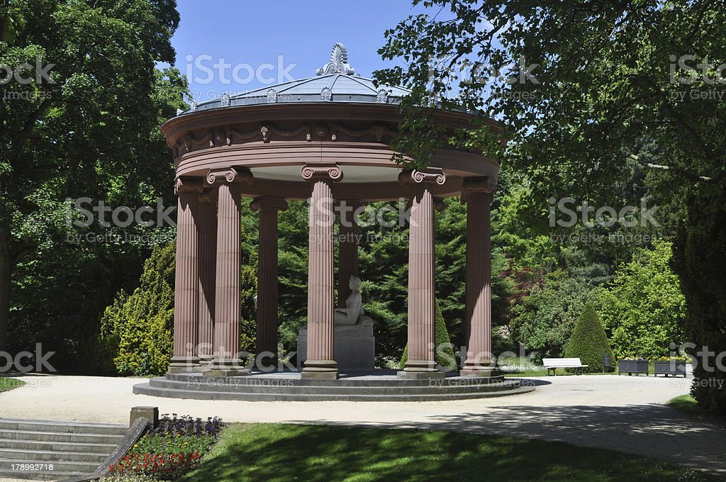 Well in Bad Homburg, Germany stock photo