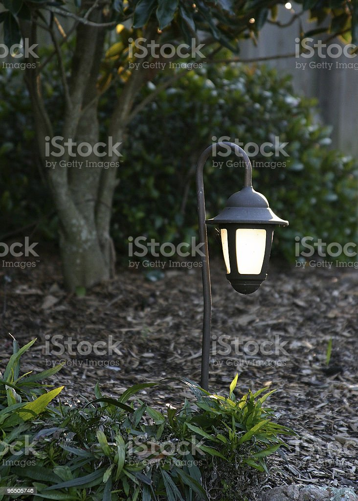 We'll leave the light on for you... stock photo