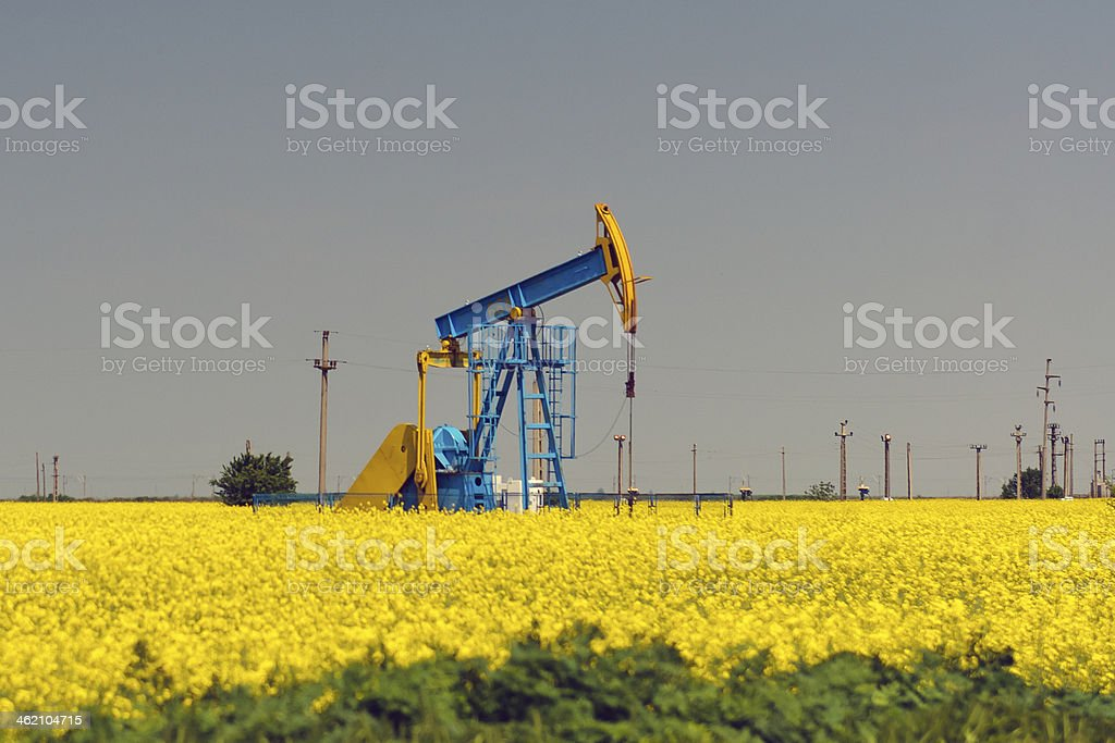 Well oil royalty-free stock photo