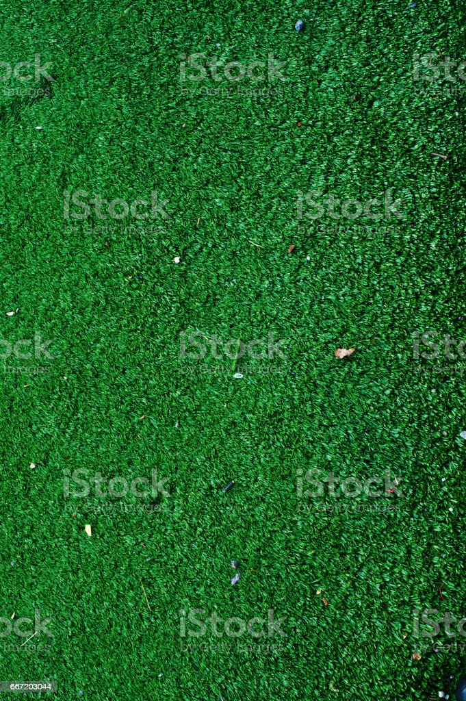 Well Trimmed Lawn stock photo
